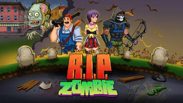 R.I.P. Zombie poster