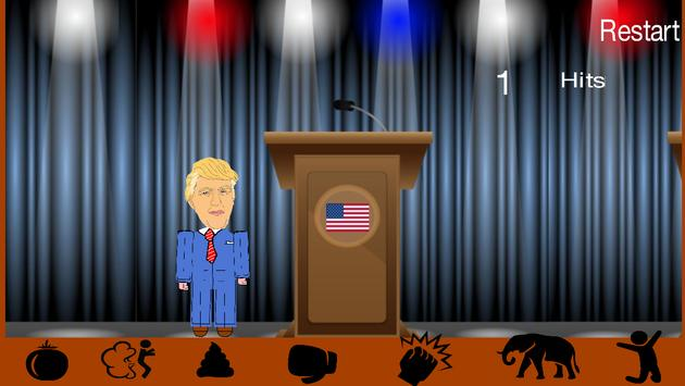 Punch The Donald Dump out ! apk screenshot