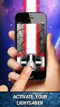 Lightsaber Augmented Reality poster