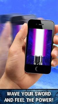 Lightsaber Augmented Reality screenshot 2