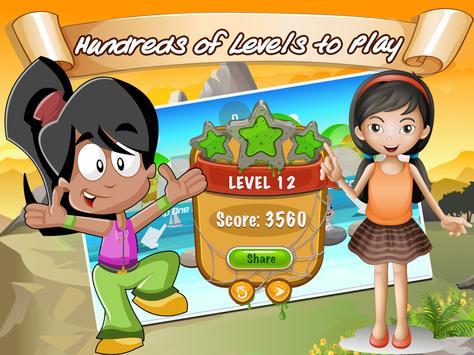 Modern Looney Hero toon Blocky Jump War apk screenshot