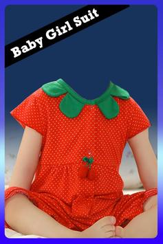 Baby Girl Suit pro poster