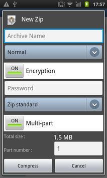 Easy Unrar, Unzip & Zip screenshot 5