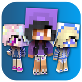 Baby Girl Skins for Minecraft PE icon