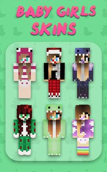 Baby Mädchen Skins Für Minecraft PE Für Android APK Herunterladen - Skins fur minecraft madchen