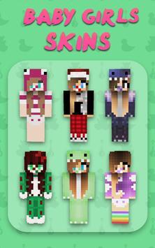 Baby Girl Skins for Minecraft PE screenshot 3