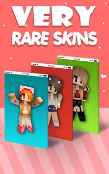 Chicas Lindas Skins Para Minecraft PE For Android APK Download - Skins para minecraft pe para mujer