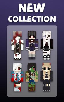 Horror Girl Skins For Minecraft For Android APK Download - Horror skins fur minecraft