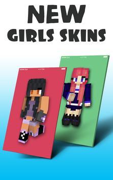 Mädchen Skins Für Minecraft PE Für Android APK Herunterladen - Skins fur minecraft madchen