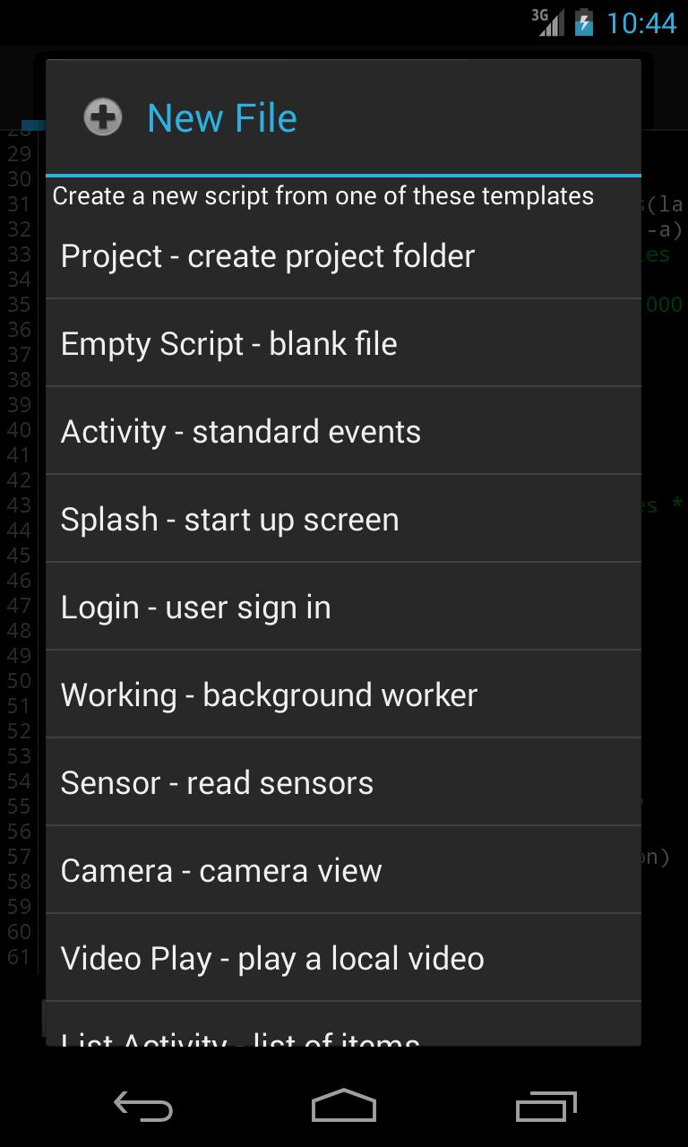 Android JavaScript Framework for Android - APK Download