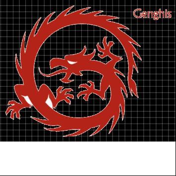 GenghisCaseA6 poster