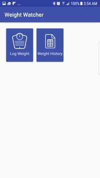 Weight Watcher apk screenshot