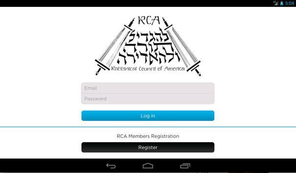 RCA apk screenshot