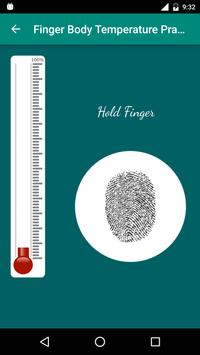 Finger Body Temperature Prank apk screenshot