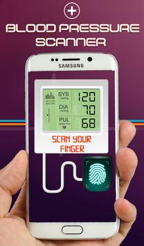 Blood Pressure Scanner Prank apk screenshot