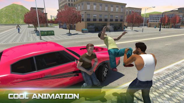 Real San Andreas Crime City Gangster 2017 screenshot 1