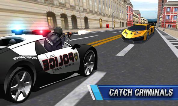 Police Car VS Thief poster