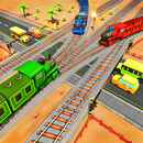 Railroad Crossing Train Games APK