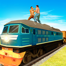 Police Train Driving: Train Fighting Games APK