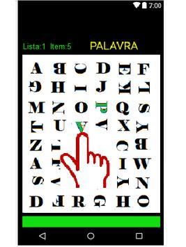Caça Palavras Animado screenshot 1