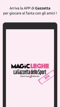 Poster Magic Leghe - Fantacalcio