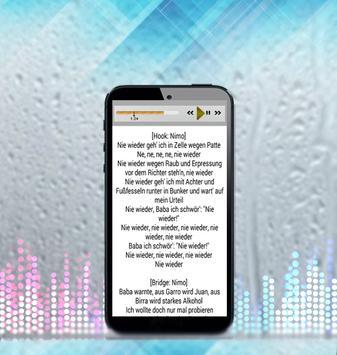 Nimo Lieder und Texte apk screenshot