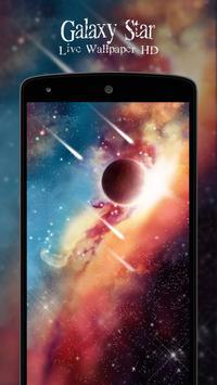 Galaxy Star Live Wallpaper HD apk screenshot