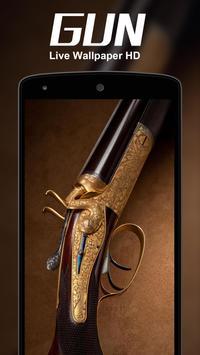 Cool Gun Live Wallpaer HD apk screenshot