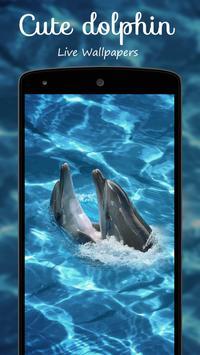 Cute dolphin Live Wallpapers apk screenshot