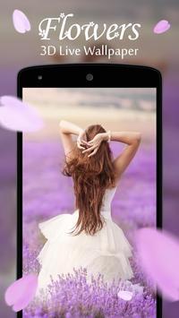 Flowers 3D Live Wallpaper apk screenshot
