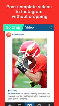 Video editor for instagram poster