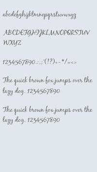 BlackJack Font - Safe Launcher poster