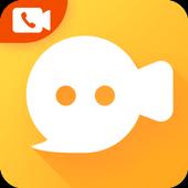 Live Chat دردش بمكالمة فيديو مع العديد حول العالم أيقونة