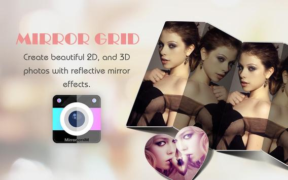 Mirror Grid - Photo Collage poster