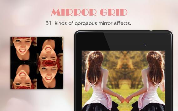 Mirror Grid - Photo Collage apk screenshot