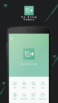 No Crop Video Editor Instagram poster