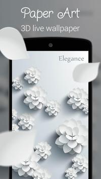 Paper Art 3D live wallpaper apk screenshot