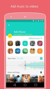 PicsFlow - Slideshow editor apk screenshot
