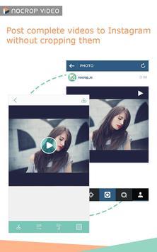 No Crop Video for Instagram poster