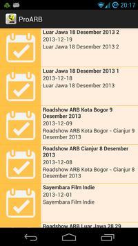 Relawan Pro ARB apk screenshot
