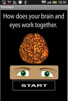 Vision and Brain coordination? poster