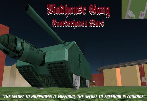 Madhouse Gang, NH Wars poster
