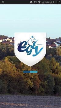 Ville d'Egly poster