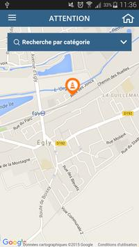 Ville d'Egly apk screenshot
