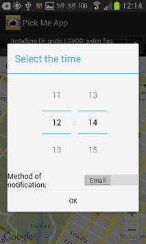 Pick me App screenshot 2