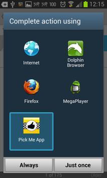 Pick me App screenshot 5