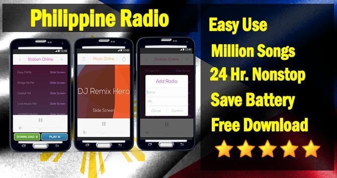 Filipino Music - PH Radio apk screenshot