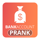 Fun Fake Bank Account Prank icon