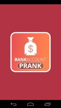 Fun Fake Bank Account Prank screenshot 1