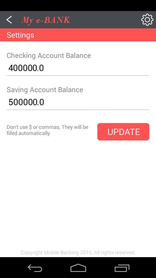 download fun fake bank account prank